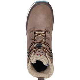 Viking Footwear Rotnes GTX Shoes Kinder dark brown/light brown
